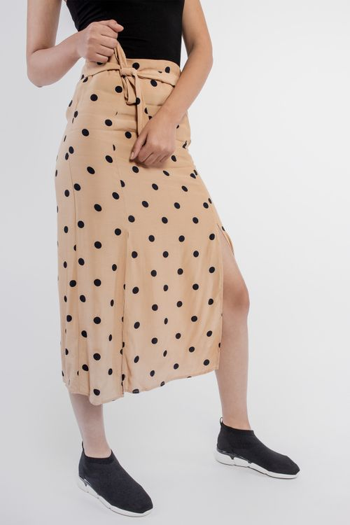 Polka dots midi skirt julia