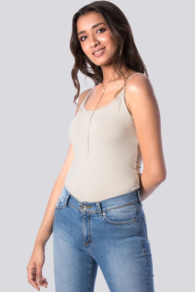 Spaghetti Strap Basic Top